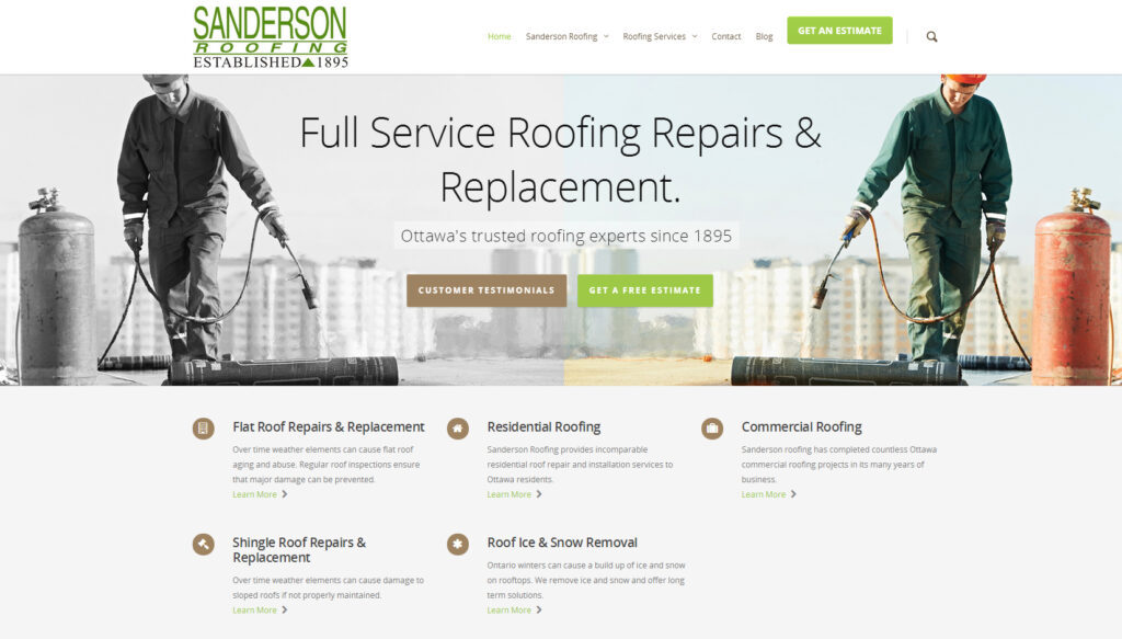 Sanderson Roofing